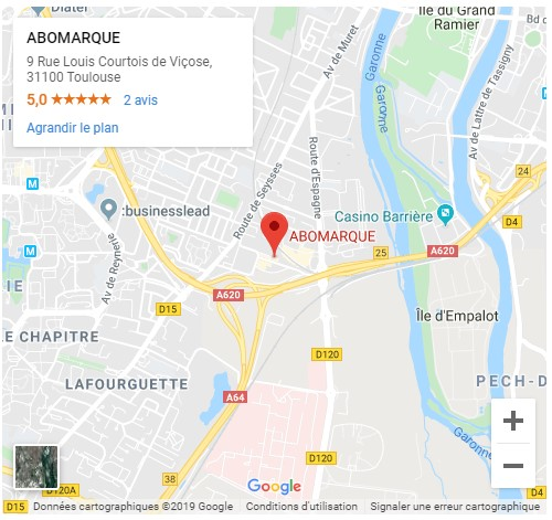 Plan d'accès AboMarque