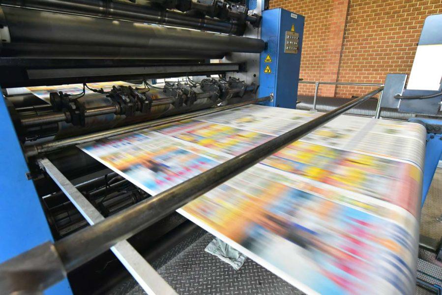 Rotative d'impression de magazine | AboMarque