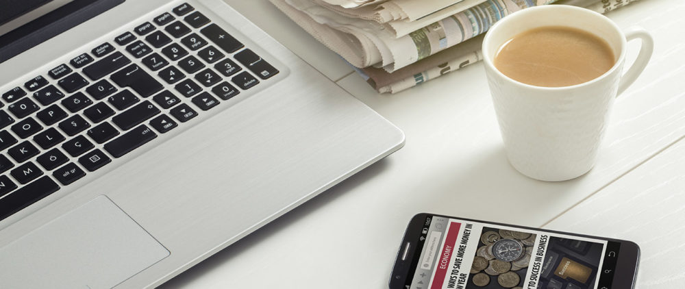 Illustration: digitalisation de la presse - AboMarque