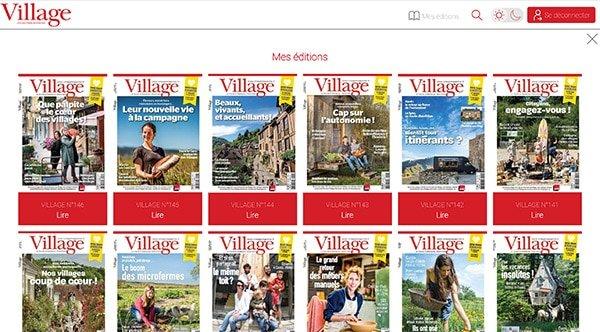 Magazine Village: la version numérique - AboMarque